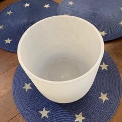 High Chakra Crystal Singing bowls